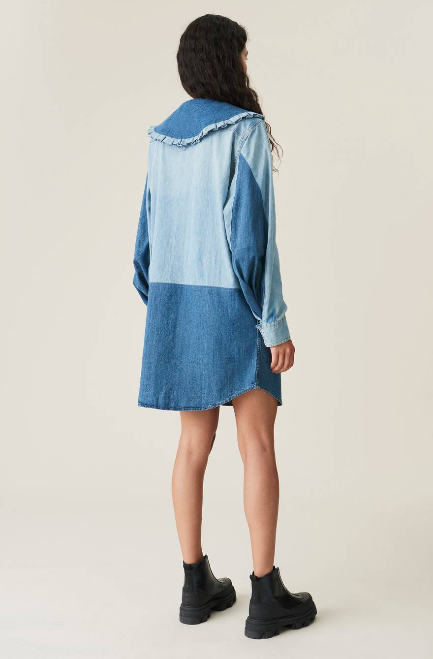 GANNI X Levi's® Upcycled Shirt Dress